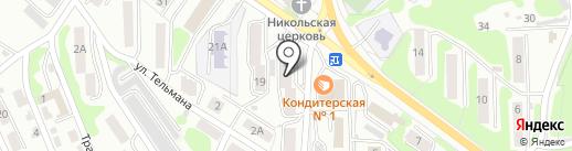Пивмания на карте Петропавловска-Камчатского