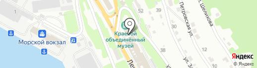 Камчатский краевой объединённый музей, КГБУ на карте Петропавловска-Камчатского