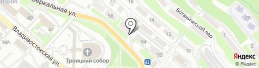ФИШ-СНАБ на карте Петропавловска-Камчатского