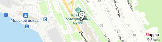 ФлотБункер на карте Петропавловска-Камчатского