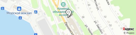 Административно-контрольное управление Администрации Петропавловск-Камчатского городского округа на карте Петропавловска-Камчатского