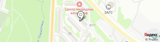 Гос-Рем-Строй на карте Петропавловска-Камчатского