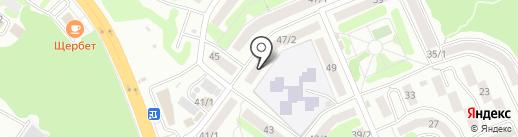 Лимна на карте Петропавловска-Камчатского