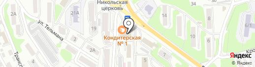 STREET LUNCH на карте Петропавловска-Камчатского