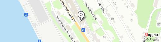 Служба одного окна на карте Петропавловска-Камчатского