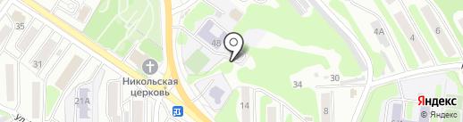 Вечерняя (сменная) школа №16 на карте Петропавловска-Камчатского