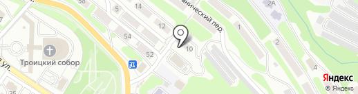 Зайка на карте Петропавловска-Камчатского