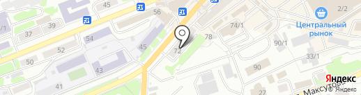 МТС на карте Петропавловска-Камчатского