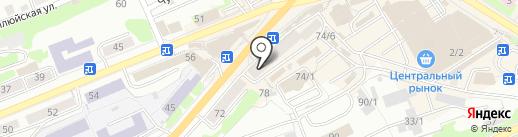DHL Express на карте Петропавловска-Камчатского