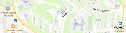 Tortuga на карте Петропавловска-Камчатского