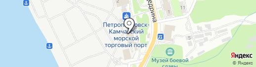 Автоагентство-НАВИ на карте Петропавловска-Камчатского