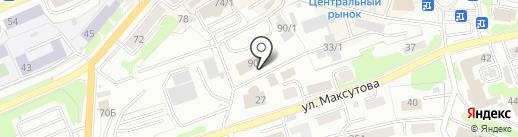 Управление Федеральной антимонопольной службы России по Камчатскому краю на карте Петропавловска-Камчатского