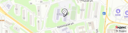 Средняя общеобразовательная школа №30 на карте Петропавловска-Камчатского