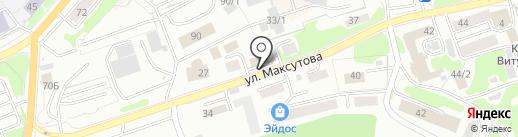 Геометрия на карте Петропавловска-Камчатского