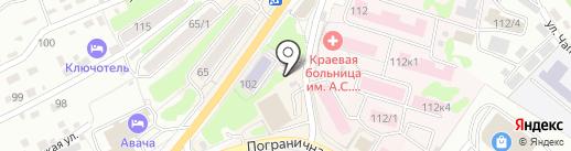 Здоровье на карте Петропавловска-Камчатского