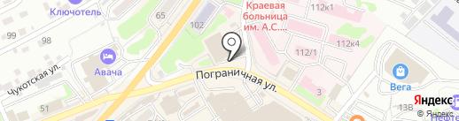 Сервис-центр для мобильных устройств на карте Петропавловска-Камчатского