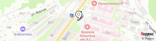Хоска, ПАО на карте Петропавловска-Камчатского