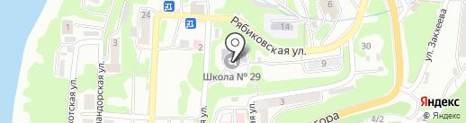 ДЮСШ №5 на карте Петропавловска-Камчатского