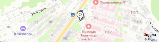 Медтехника на карте Петропавловска-Камчатского