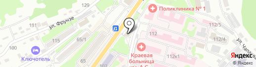 Sismetica на карте Петропавловска-Камчатского