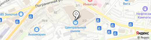 Золотое время на карте Петропавловска-Камчатского