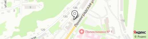 Дальневосточный федеральный университет на карте Петропавловска-Камчатского