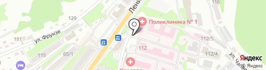 Городской травмпункт на карте Петропавловска-Камчатского