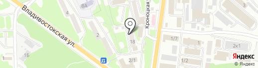 Пробочка на карте Петропавловска-Камчатского