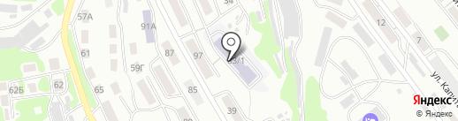 Основая школа № 6 на карте Петропавловска-Камчатского