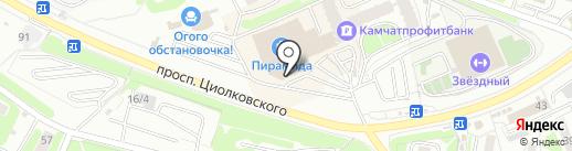 Sweet Point на карте Петропавловска-Камчатского