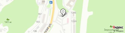 Анютка на карте Петропавловска-Камчатского