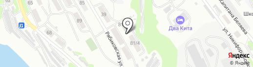 Инвестстрой на карте Петропавловска-Камчатского