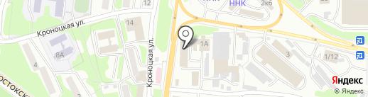 VAuto на карте Петропавловска-Камчатского