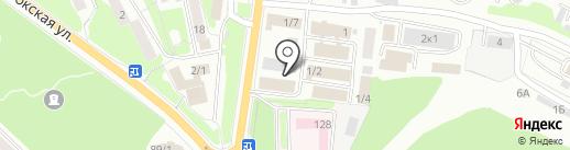 Магазин обоев на карте Петропавловска-Камчатского