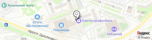 Проект-М на карте Петропавловска-Камчатского