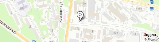 Идеал-пласт на карте Петропавловска-Камчатского