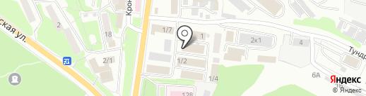 Сеть магазинов строительных материалов на карте Петропавловска-Камчатского