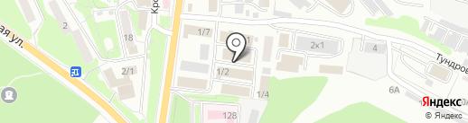 НЕВСКИЙ СТИЛЬ на карте Петропавловска-Камчатского