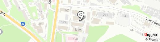 Kartin на карте Петропавловска-Камчатского