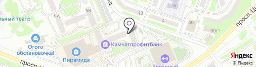 ОРЛАН КАМЧАТКА на карте Петропавловска-Камчатского
