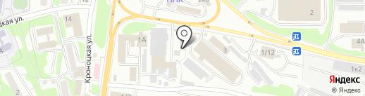 Боливар 4х4 на карте Петропавловска-Камчатского