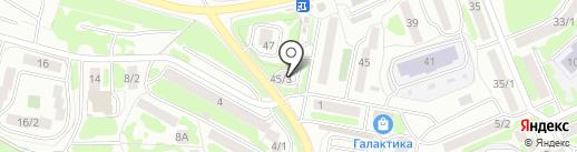 Оптовик на карте Петропавловска-Камчатского