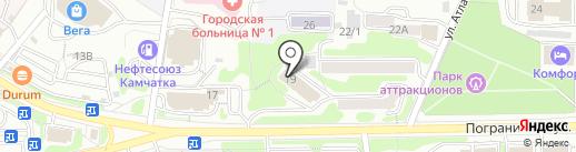 КамчатЭнергоСервис на карте Петропавловска-Камчатского