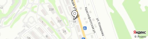 Сеть алкогольных магазинов на карте Петропавловска-Камчатского