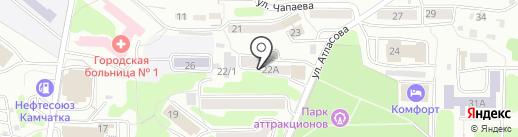 Камчатский центр психолого-педагогической реабилитации и коррекции на карте Петропавловска-Камчатского