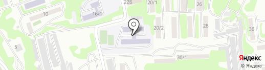 Средняя школа №1 на карте Петропавловска-Камчатского