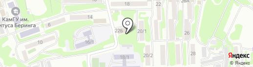 ОРЛАНДО на карте Петропавловска-Камчатского