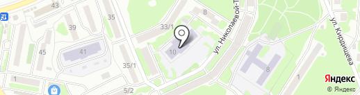 Детский сад №16 на карте Петропавловска-Камчатского