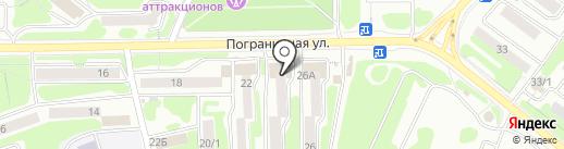 Электрон на карте Петропавловска-Камчатского