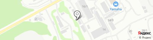 Высот-Авто на карте Петропавловска-Камчатского